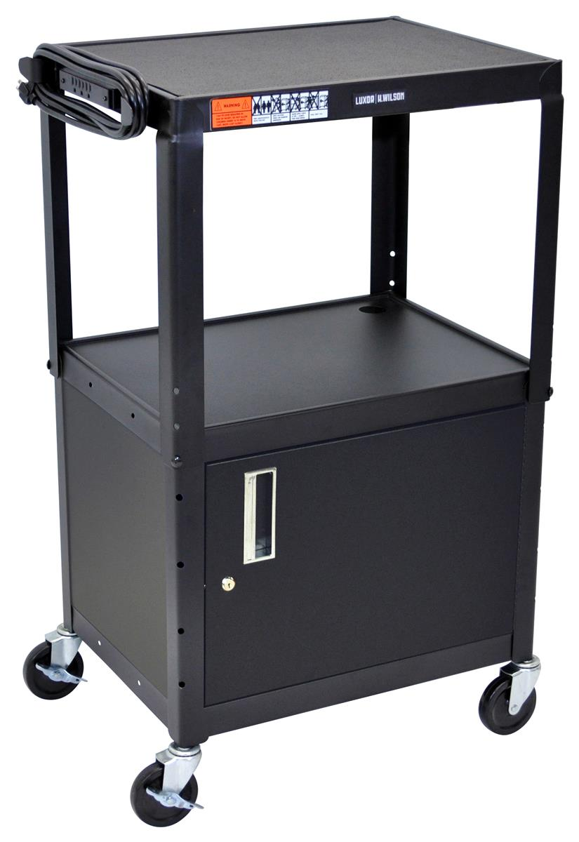 This Av Cart With Utility Cabinet Is Ideal For Any School