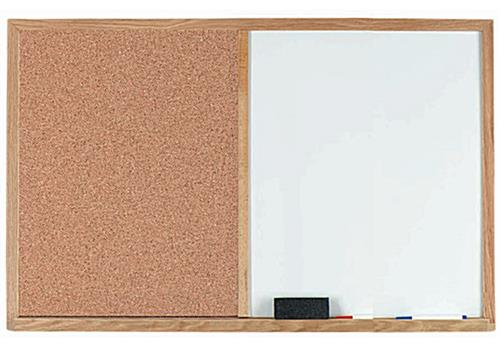 White Dry Erase Board with Storage Tray