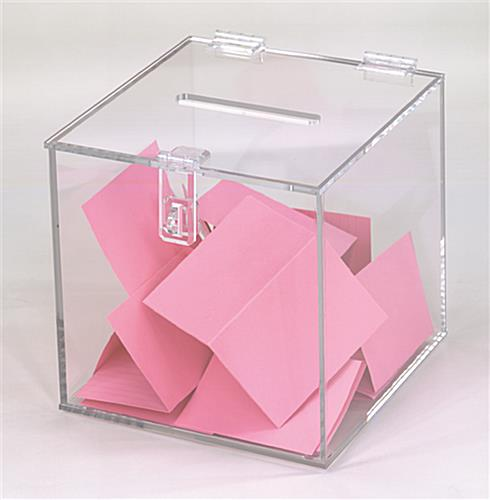 Clear Ballot Boxes