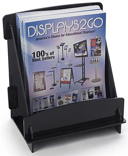 "Flat Pack Magazine Holder with 8.75"" Wide Pocket"