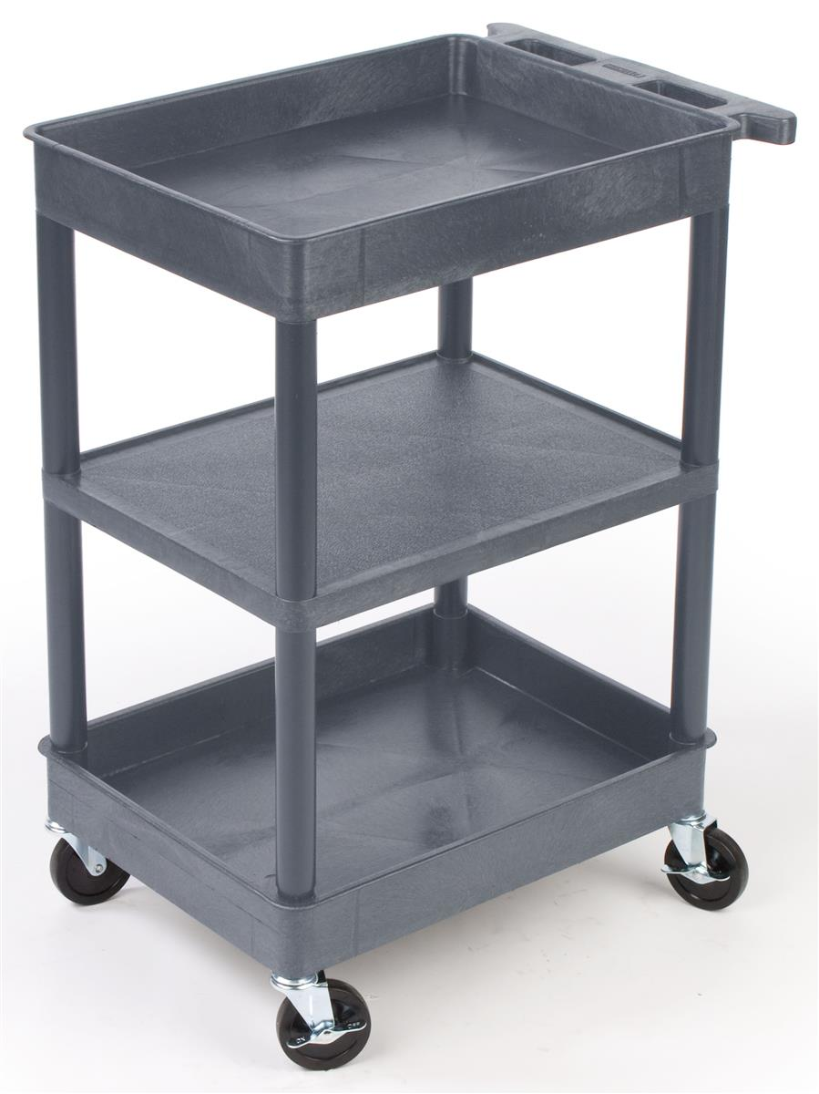Industrial Carts With Smooth Casters Are Used In Many