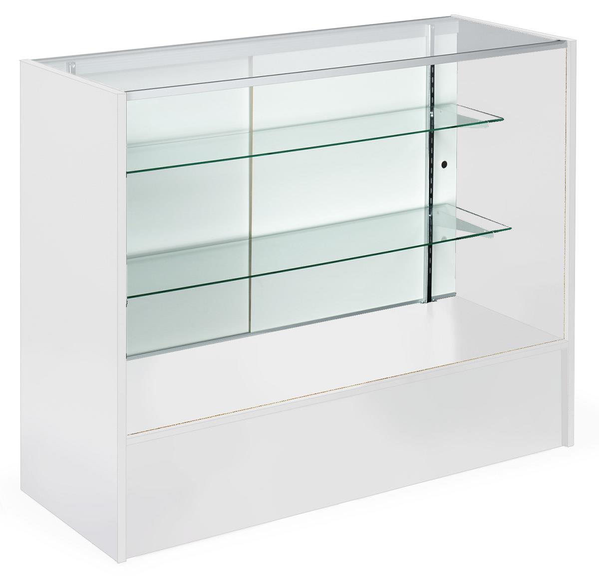 Showcases With Glass Shelves White Melamine Cabinet