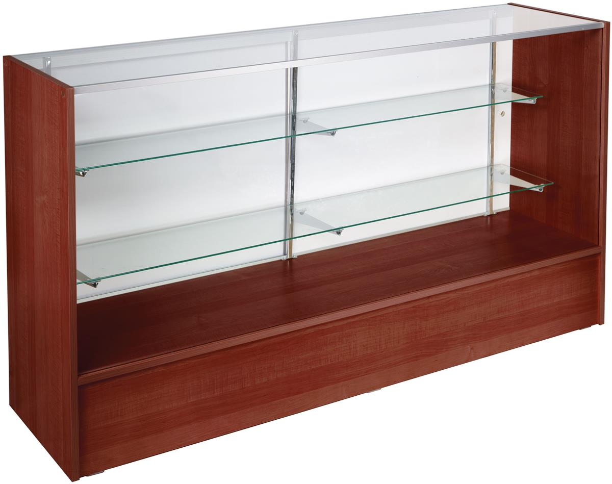 Cherry Retail Counters Adjustable Shelving