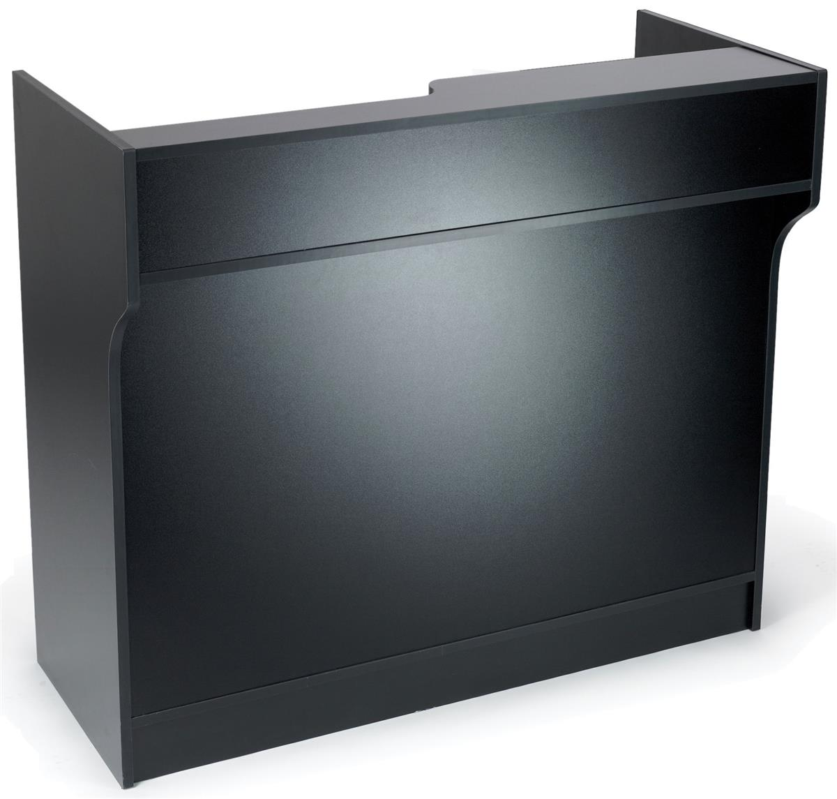 48 Inch Wide Retail Sales Counter 42 Quot Tall Black Cash Wrap
