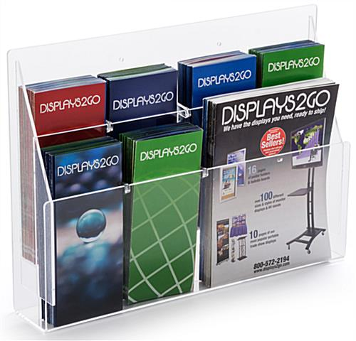 Countertop Combo Magazine Rack