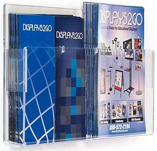 Pocket Magazine Holder for Brochures or Catalogues