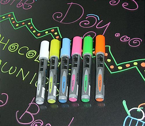 neon markers