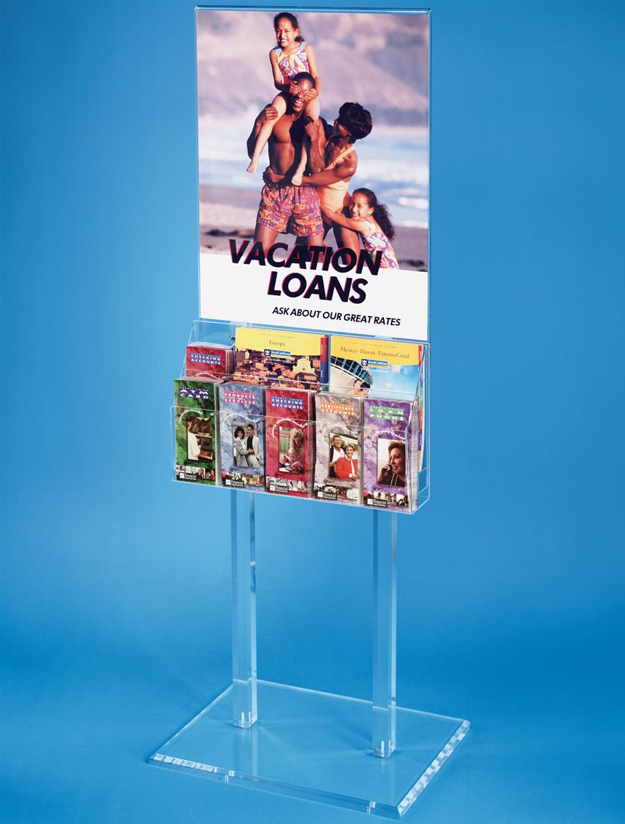 Poster Frame Stands Large Graphic Holders