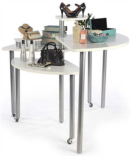 Tiered Rotating Tables 4 Levels