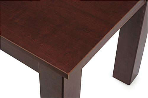 Cherry Wood Nesting Tables with Laminate Finish