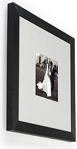 This Picture Frame Features Classic Black and White Accents, Great ...