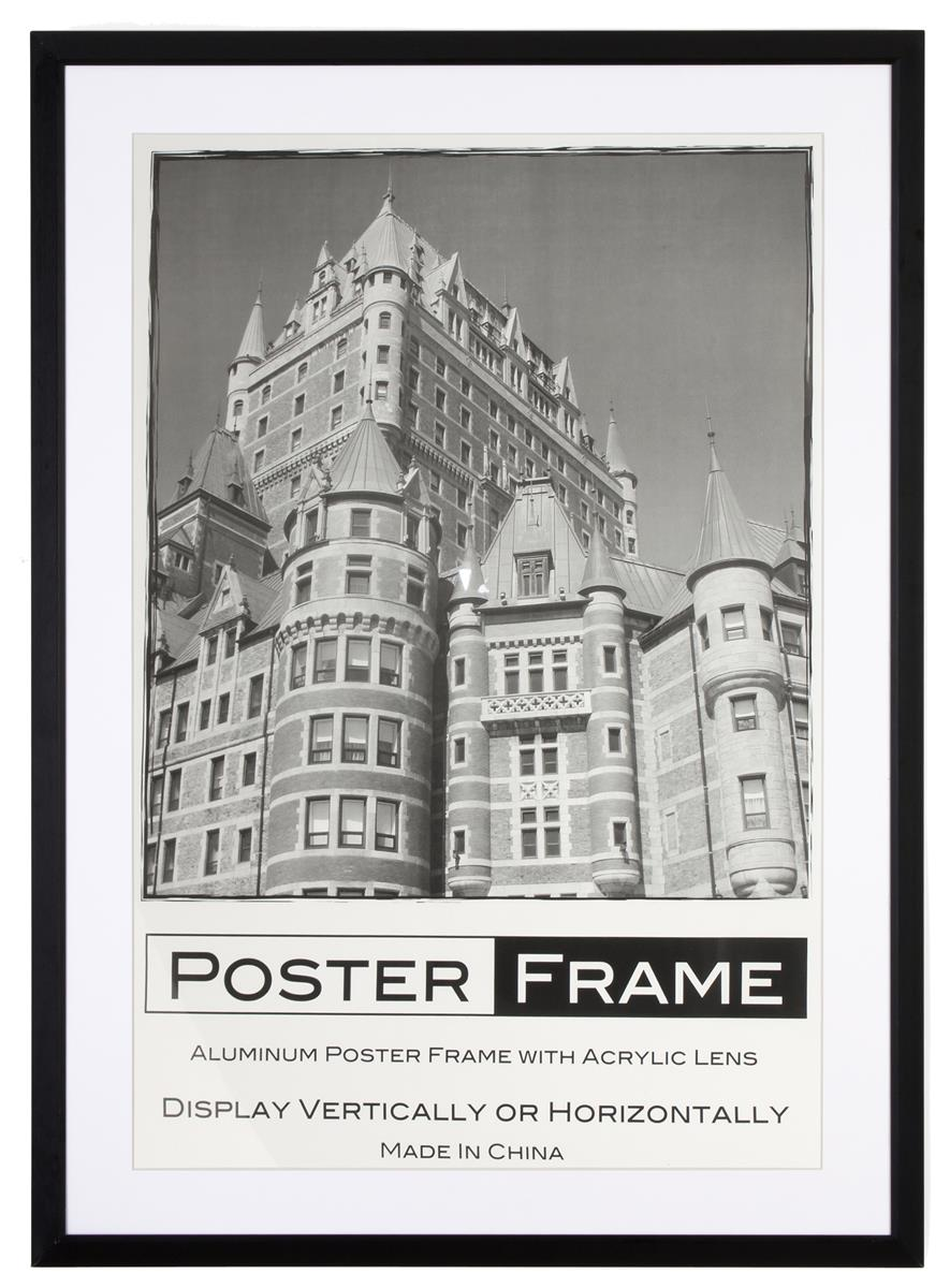 movie poster size frame standard 27quot x 40quot format