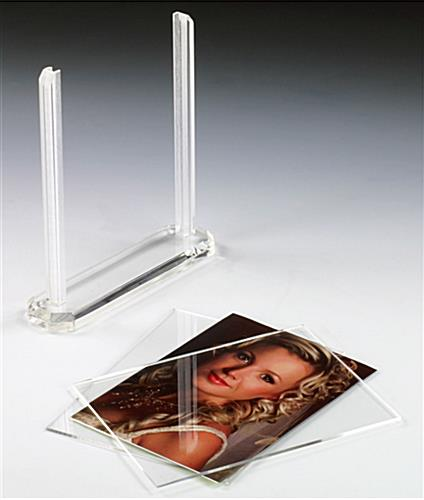 This Picture Frame Displays Two 5 Quot X 7 Quot Photos Menus Or