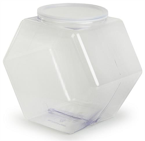 Plastic Candy Jar Set of 10