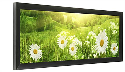 Black Panorama Photo Frame