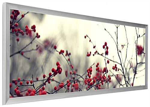 Panorama Photo Frame | Wall Mount with Shatter Proof Lens