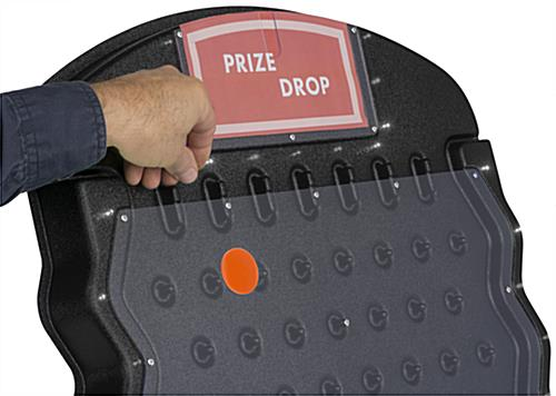 LED Disk Drop Game with White Pucks