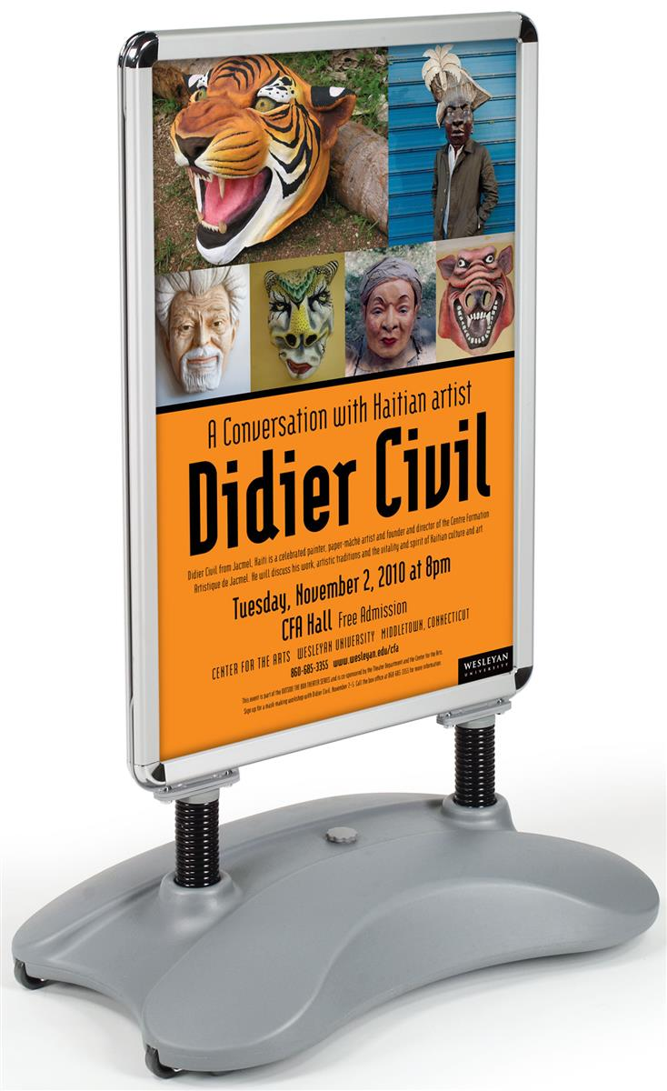 Poster Sandwich Boards Sidewalk Signs For Outdoor Use