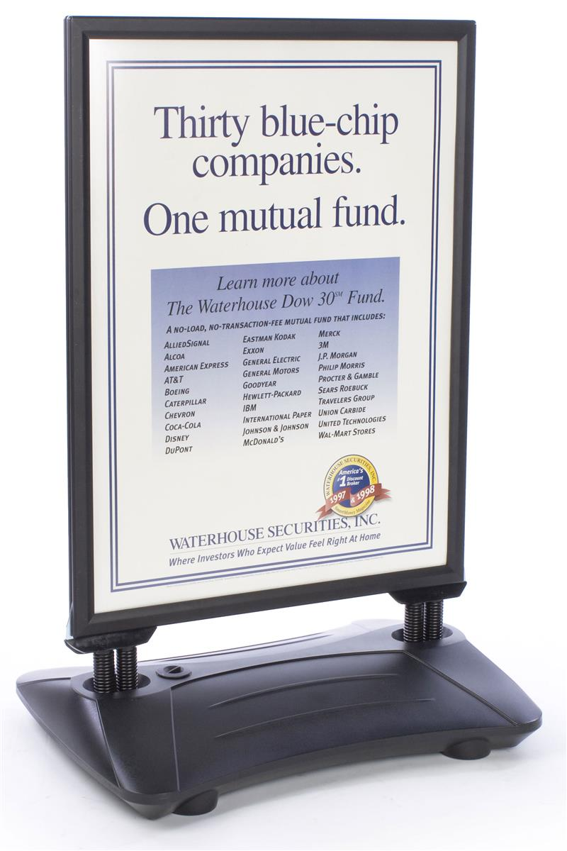 This Poster Frame For 30 Quot X 40 Quot Posters Is An Outdoor Sign