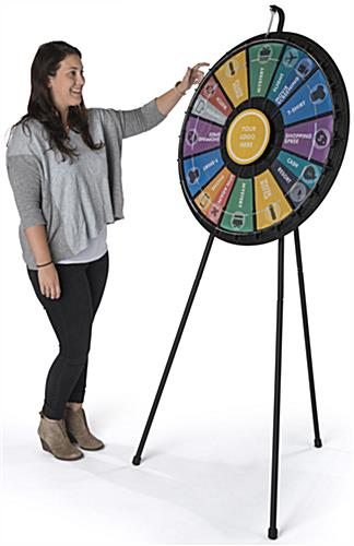 Contest Spinning Wheel for Trade Shows