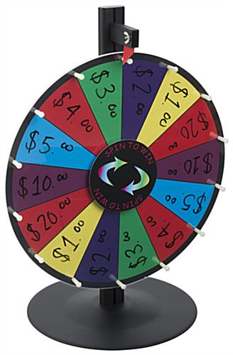 Colorful Game Spin Wheel