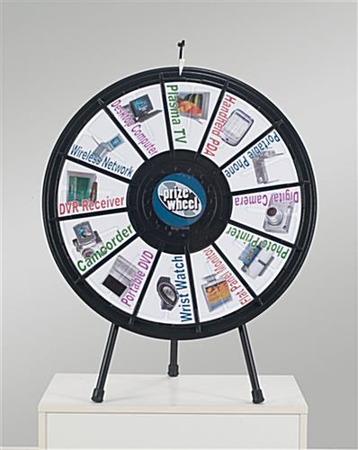 31in table top prize wheel