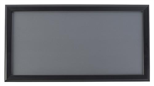 Black 12 x 24 Snap Frame with Mounting Screws