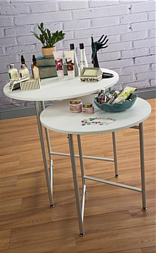 Nesting Display Tables Retail Merchandsing Fixtures