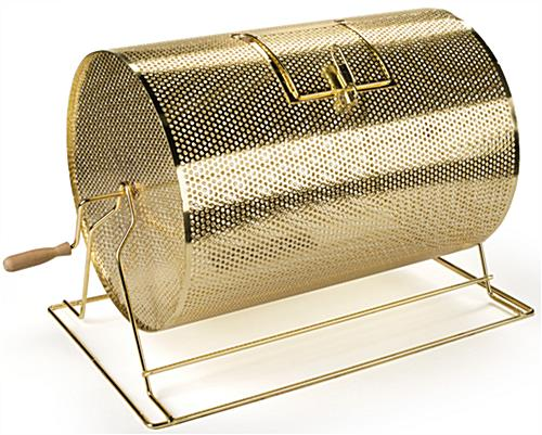 Perforated Brass Raffle Drum