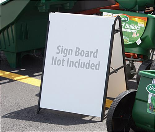 "Portable Sign: For 18"" x 24"" Or 24"" x 24"" Graphics"