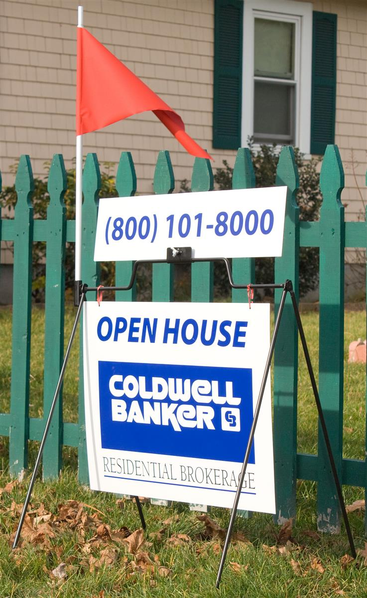 These Sidewalk Signs Draw Attention to Every Open House! Buy ...