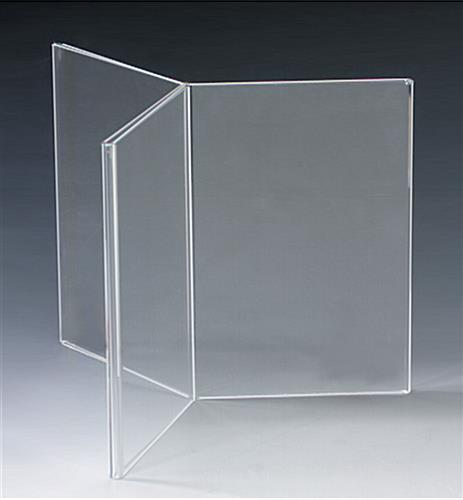 Acrylic Table Tent for Counters