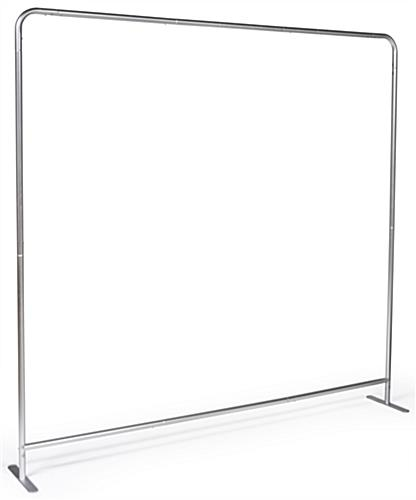Single Sided 8' Wide Banner Backdrop with Aluminum Construction