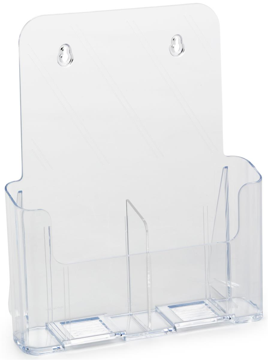 Acrylic Brochure Holder Literature Display Clear Plastic