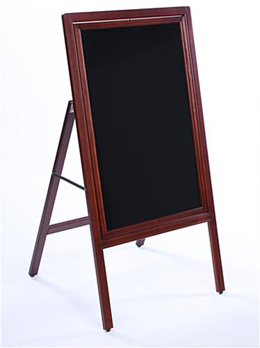 a-frame black boards
