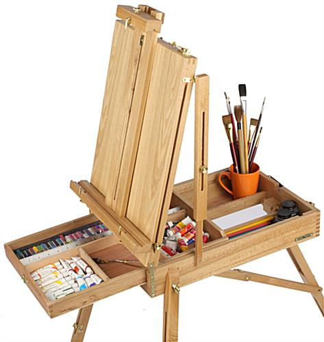 This painting easel is versatile and can be used in a - Porta poster amazon ...