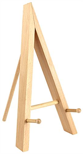 Table Top Easel With A Natural Wood Finish ...