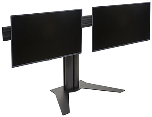 Side By Side 2 Screen Desktop Stand 2 10 32 Monitors