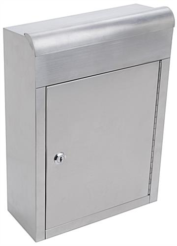 Stainless Steel Suggestion Box for Countertops