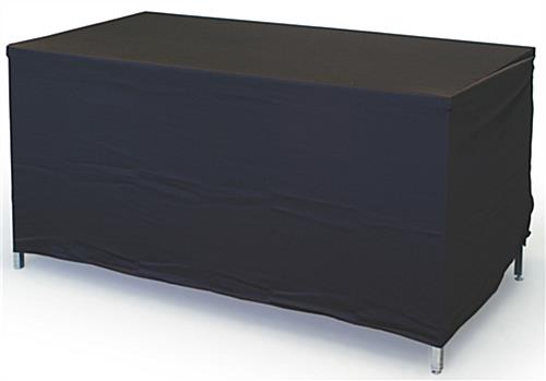 Convertible Table Throw Black, Fits 4' And 6' Tables
