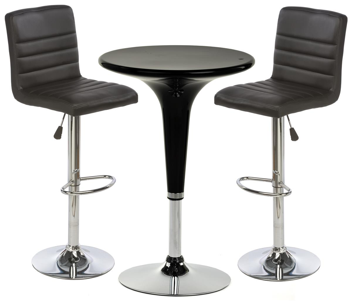 Round Table With Stools: Bar Stool And Table Sets