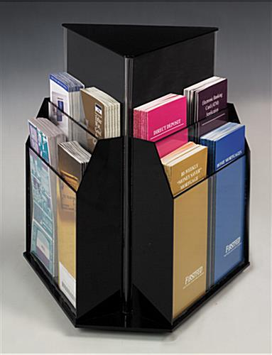 rotating literature holder