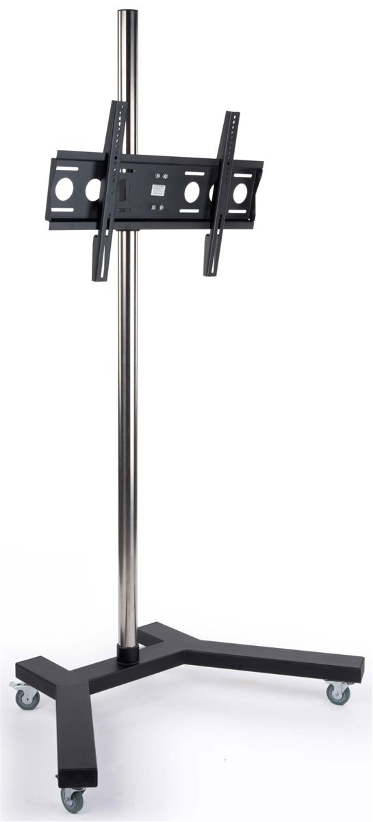 this monitor stand has lockable casters for a stable presentation this lcd display is height. Black Bedroom Furniture Sets. Home Design Ideas