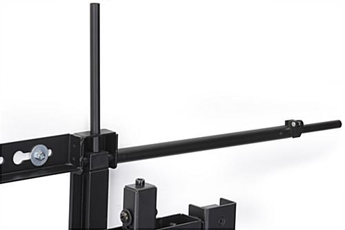 Multiple Led Wall Mount System Locking Flat Screen Display