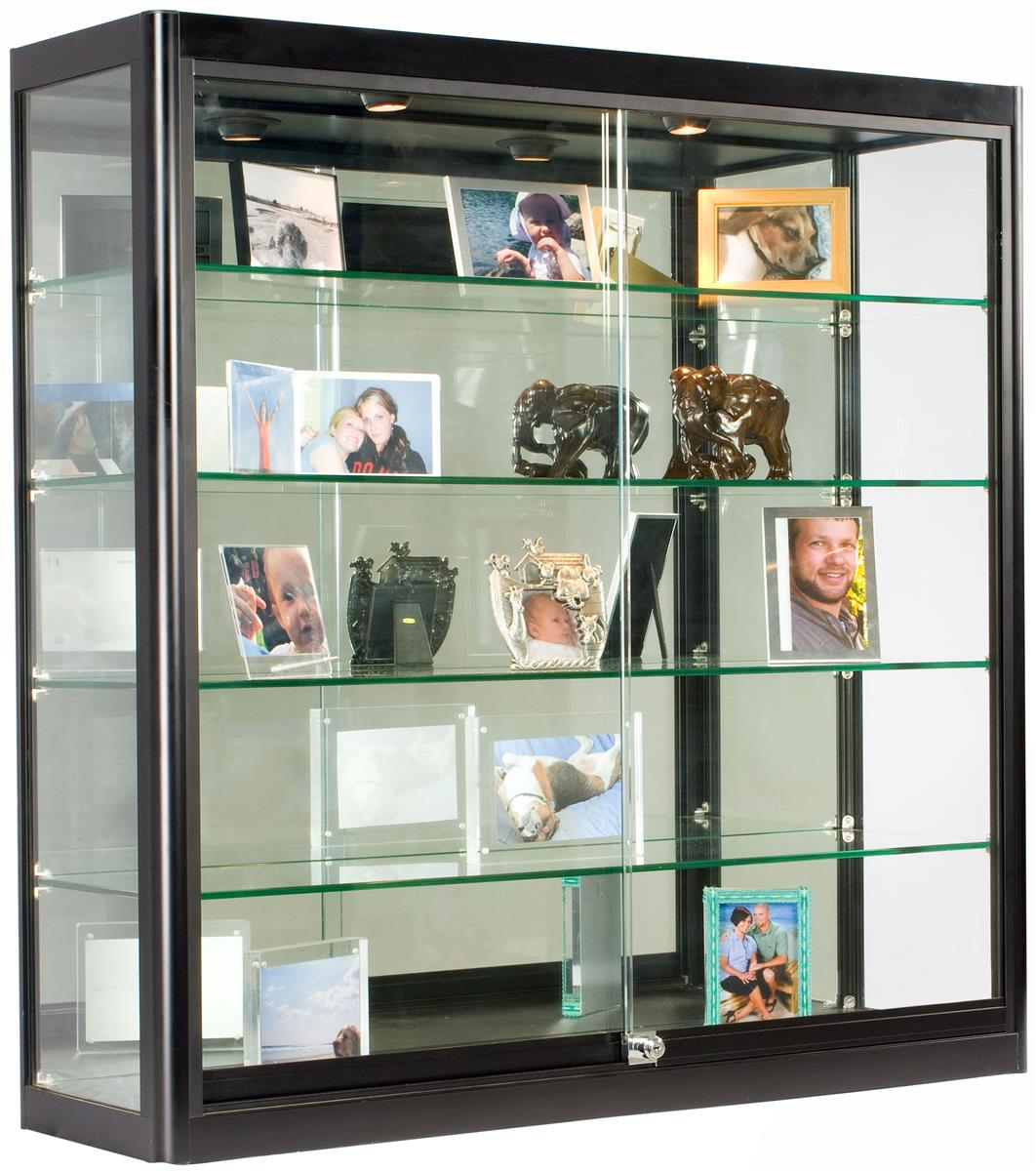 Black Wall Showcases Square Cabinet 12 Quot Depth