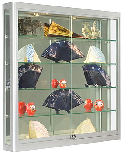 "Wall Cases Are 6"" Deep Wall Mount Displays"