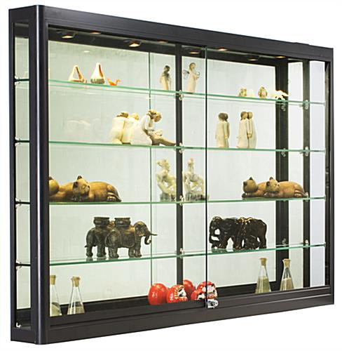 Wall Cabinet Is 5FT. Wide For Displaying Jewelry And More