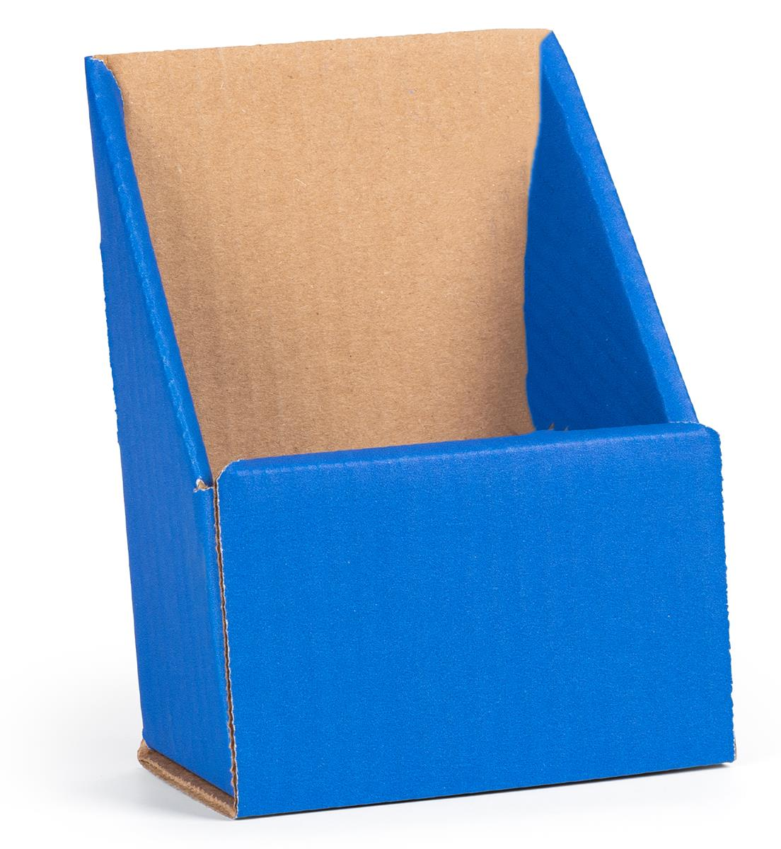 Blue Cheap Desktop Pamphlet Holders 4 Quot X 9 Quot Countertop