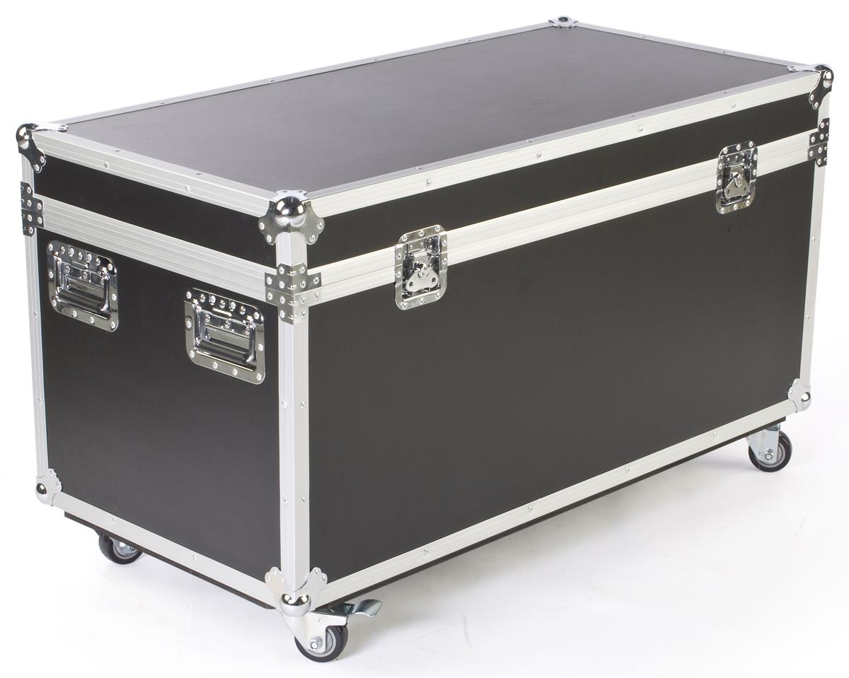 Shipping Cases With Wheels Travel Container for Trade Shows