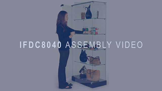 <p>Check out this assembly video to get a better overview on how to setup these store showcases. The assembly is straight forward, and can be setup in no time with a little bit of help. Watch this instructional video so that you can immediately start displaying your products in these beautiful store showcases. </p>